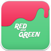 GreenRed go launcher theme