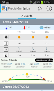 MeteoSIX Mobile- screenshot thumbnail