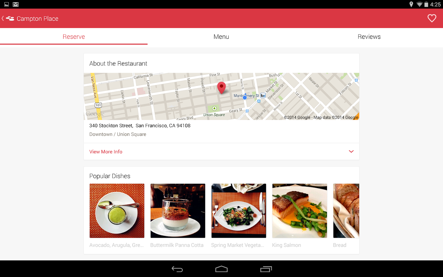 OpenTable - Free Reservations - screenshot