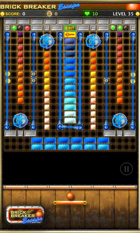 Brick Breaker Escape!- screenshot