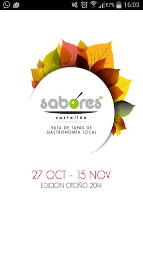 Sabores Castellón Otoño 2014