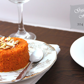 Gajar Ka Halwa (Carrot Pudding) – Low Calorie