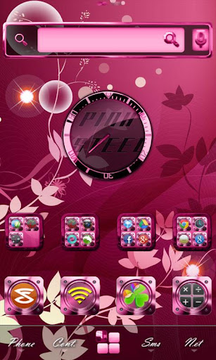Pink Steel Multi Theme