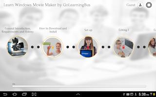 Screenshot of Learn Windows Movie Maker