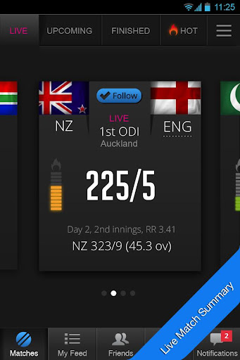 cricket livescore