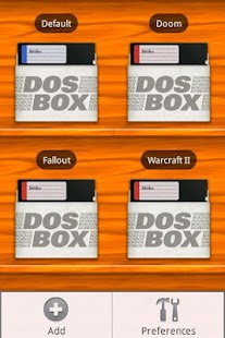 DosBox Manager- screenshot thumbnail
