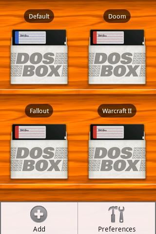 DosBox Manager- screenshot