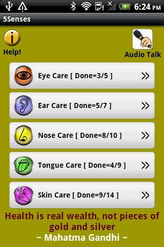 5 senses care
