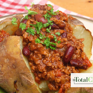 Total Choice Veggie Chili and Baked Potato