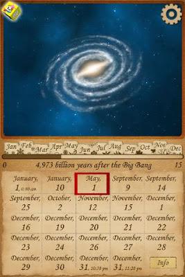 Astronomy Universe Calendar 3D - screenshot