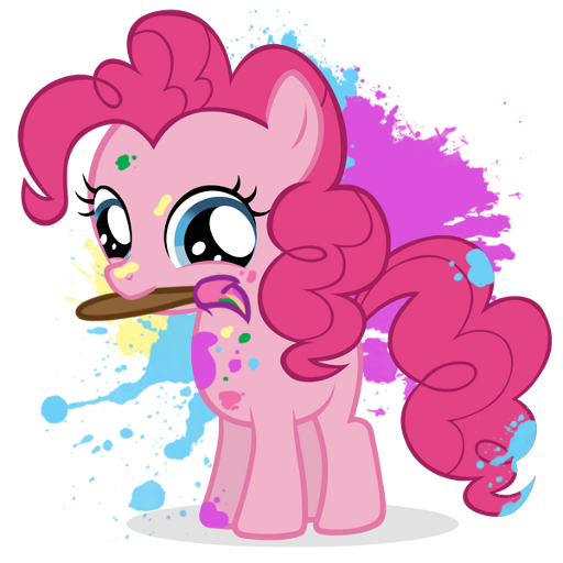 Pony Princess Coloring