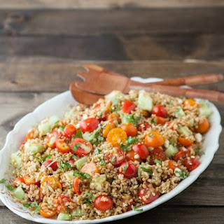 Summer Farro Salad.