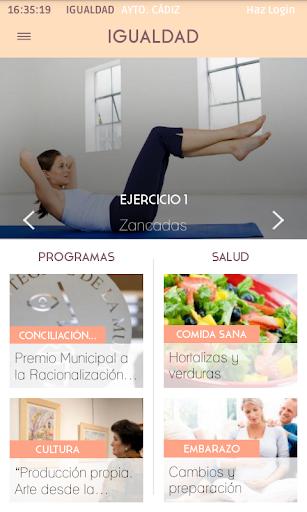 App Oficial Igualdad de Cádiz