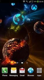 Deep Space 3D Pro lwp Screenshot 5