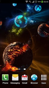 Deep Space 3D Pro lwp Screenshot 5