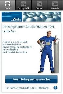Linde - Vertriebspartnersuche - screenshot thumbnail