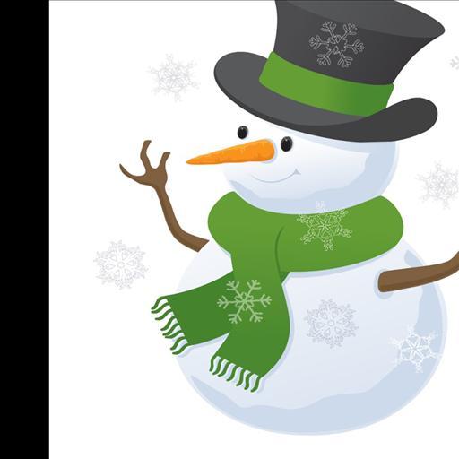 cool snowman