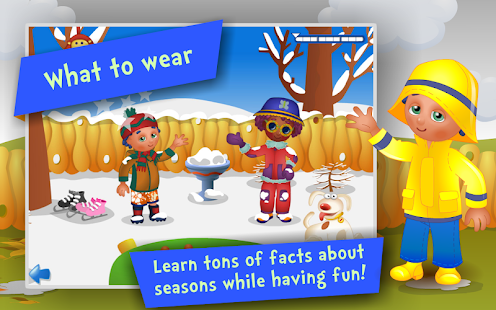 Seasons! Kids Learning games - screenshot thumbnail