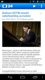 ČT 24 - screenshot thumbnail
