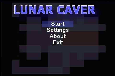 Lunar Caver- screenshot