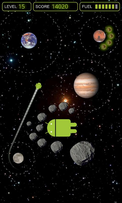 Gravity Droid - screenshot