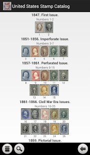 United States Stamp Catalog- screenshot thumbnail