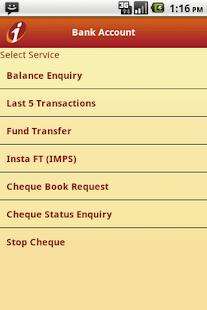 ICICI Mobile Banking - iMobile - screenshot thumbnail