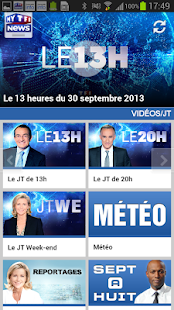 MYTF1News - screenshot thumbnail