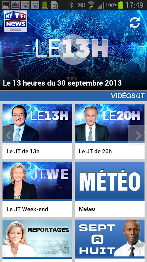 MYTF1News - screenshot