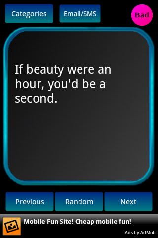 Pick-Up Lines- screenshot
