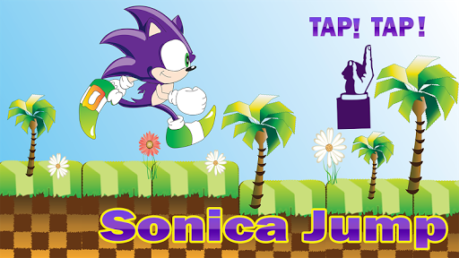 Sonica Jump Game Free