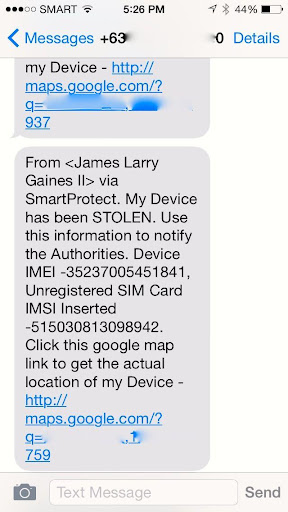 SmartProtect Anti-Theft