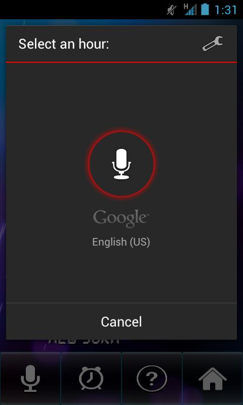 Talk Clock Free - screenshot