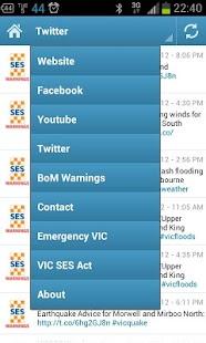 VIC SES - screenshot thumbnail