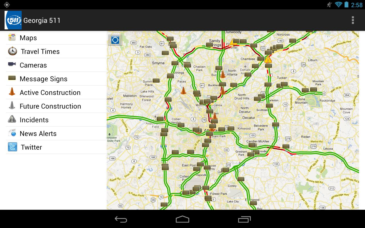 GDOT 511 - screenshot