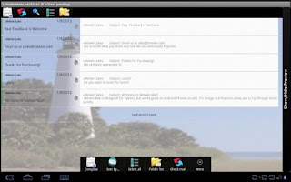 Screenshot of Melwin Mail - Email Client