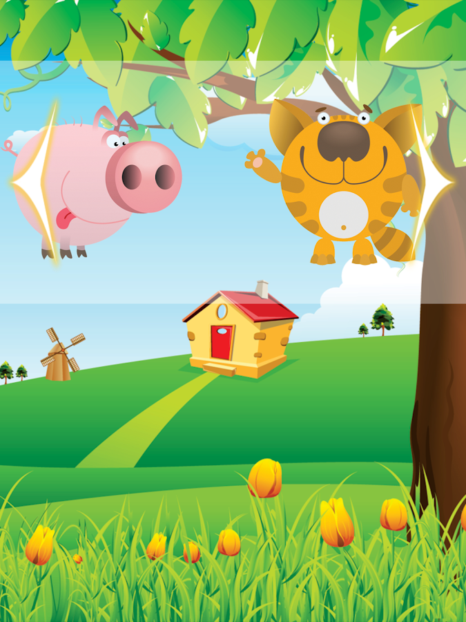 Farm animals for toddlers HD- screenshot
