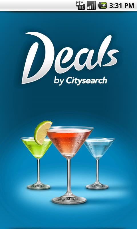 Deals by Citysearch- screenshot