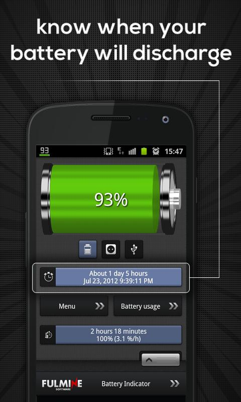 Battery Indicator Pro - screenshot