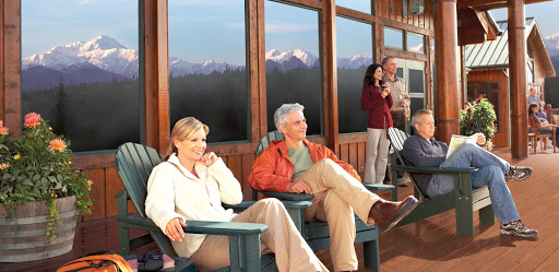 Mt-McKinley-Princess-Wilderness-Lodge-2 - Stay at the Mt. McKinley Princess Wilderness Lodge to take in remarkable views of the surrounding forest, mountains and rivers. Book it as part of a pre- or post-cruise to Alaska with Princess.
