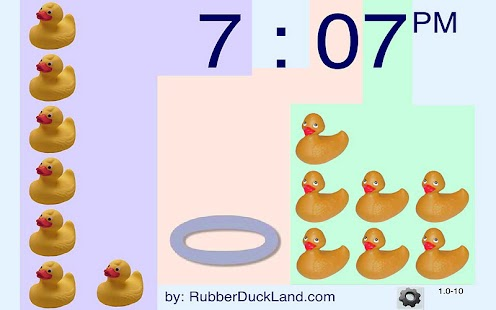 Ducky Clock - screenshot thumbnail