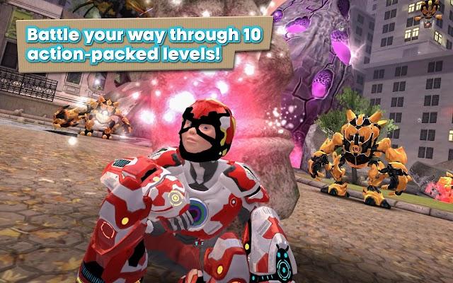 Playworld Superheroes - screenshot