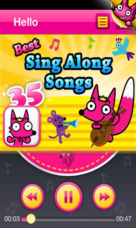 35 Sing Along Songs - screenshot