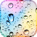 Rainy Autumn Glass LWP icon