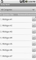Screenshot of Michigan Real Estate Exam Prep
