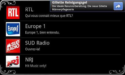 real Radio France - screenshot thumbnail