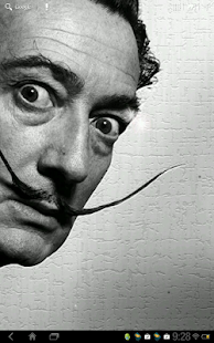 Dali faces live wallpaper free