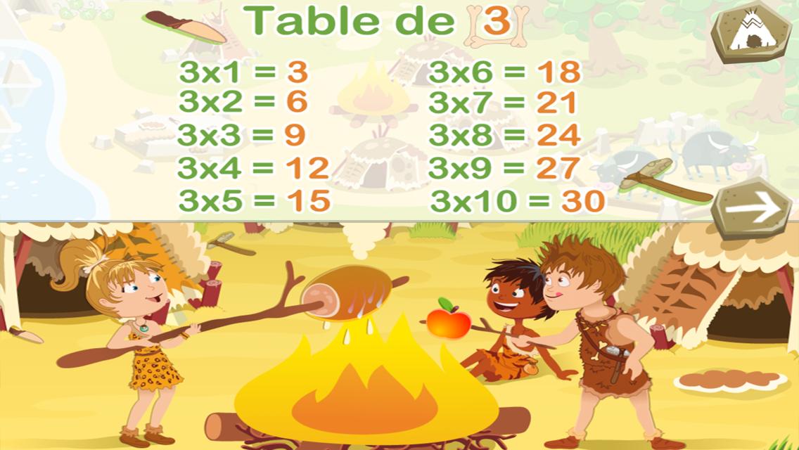 Tables de multiplication lite applications android sur - Application table de multiplication ...