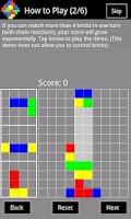 Screenshot of Colored Bricks