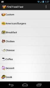 Find Fast Food screenshot 0